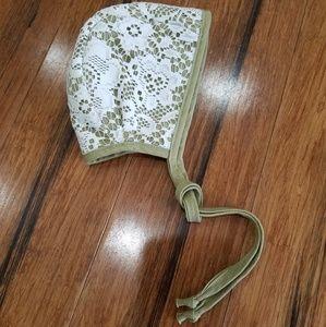 Other - Sweet as April reversible bonnet 3-6 months